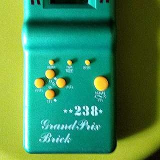 Vintage Grand prix brick game