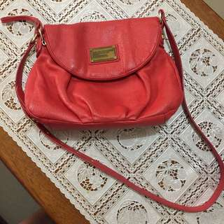 Authentic Marc Jacobs Red Sling Bag