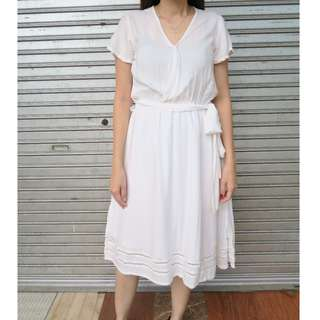 Cotton Ink Ila Dress White