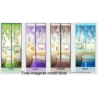 Tirai Magnet Anti Nyamuk Motif Bird