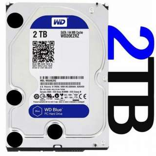 *BNIB* Western Digital Blue 2TB