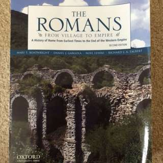 The Romans: From Village to Empire 2nd edition
