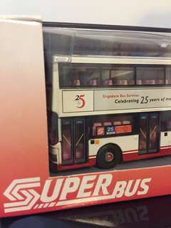 Corgi SBS 25 Years Bus model