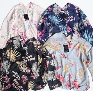 Zara basic v top tropical
