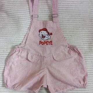 Baju kodok bayi 6 - 18 bulan