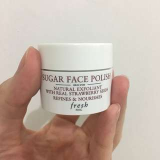 Fresh sugar polish mask