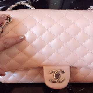 Channel baby pink