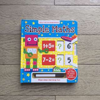Children Math Workbook (Addition & Subtraction)