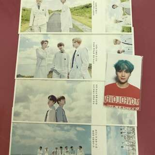 BTS POSTCARDS [READYSTOCK]