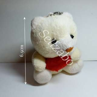Creamy White Mini Bear Hang Accessories Sellzabo
