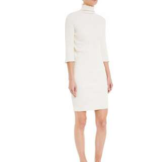 TUCHUZY turtle neck dress