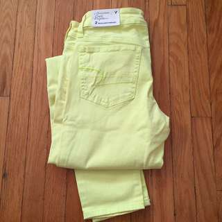 American Eagle Neon jeggings