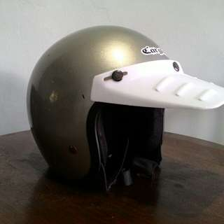 Pet Helm Retro Duck Visor 80s #jualbarangjadul