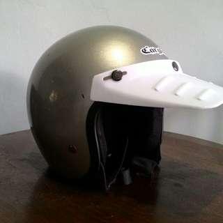 Pet Helm Retro Duck Visor 80s #jualbarangjadul