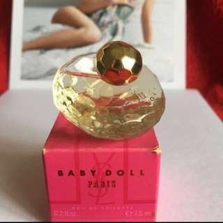 💯%Aunthentic❤️YSL BABY DOLL                                       🌟Perfume Miniature Eau De Toilette 👉7.5ml                                           ❤️Brand New🌟Price $15👉Free postage