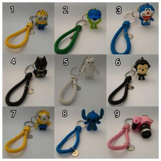 Gantungan Kunci Karakter Lucu/key Ring
