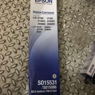 Epson 60m ribbon cartridge