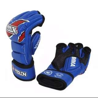 半指拳套(加厚裝) mma 拳擊 泰拳 UFC手套