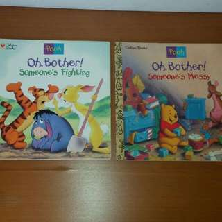 Pooh Books By Golden Books