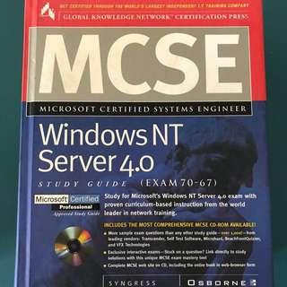 MCSE WINDOWS NT SERVER 4.0 - IT CERTIFICATION STUDY GUIDE VINTAGE