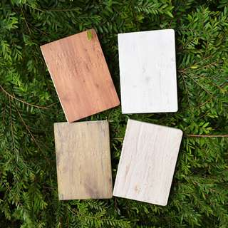 Wood Style Mixed Notebook B6