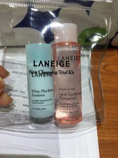 Laneige New Cleaning Trial Kit