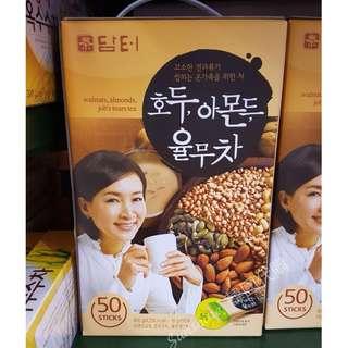 🚚 現貨 韓國 DAMTUH 丹特 核桃杏仁薏米茶 穀物堅果飲 沖泡飲品 50入