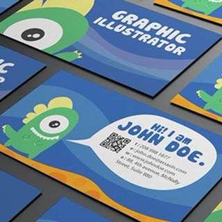 310gsm Artcard Namecard Printing