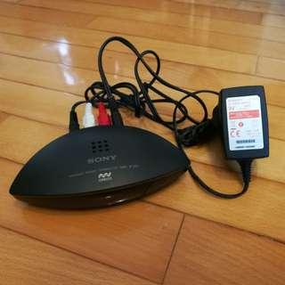 Sony Infrared Stereo Transmitter TMR-IF130 無線立體聲耳機傳送器 (**不連耳機 **)