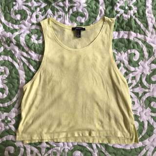 Forever21 Crop Gym Top