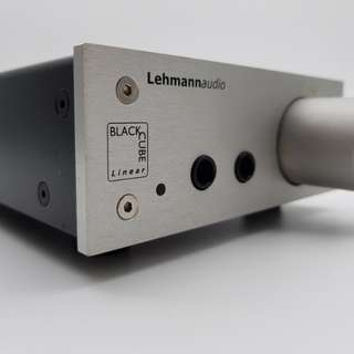 Lehmann Audio Linear Black Cube Headphone Amplifier