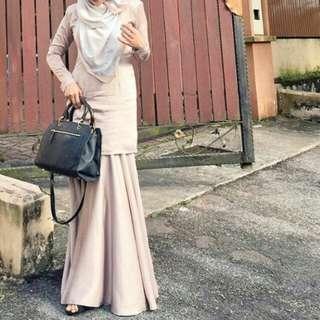 Kurung Moden Flowy skirt