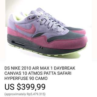 nike air max day break (rare)(negotiable)