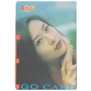 D-8-EGO CARD-葉玉卿,背面-VERONICA 玉照
