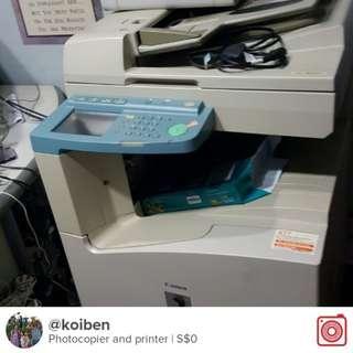 Multifunctional photocopier.