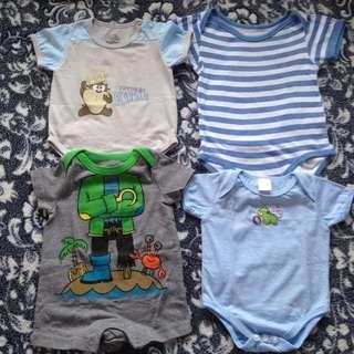 Baby Boy Onesies | pre-loved