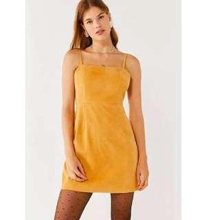 Reformation Inspired Square Neck Aline Dress