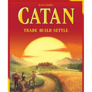Settlers of Catan board game chinese text