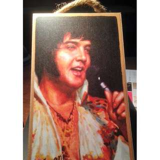Elvis Presley Painting Sign/Plaque