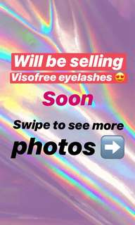 VISOFREE Eyelashes (follow me so you'll be updated!)