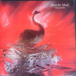 Vg+ depeche mode speak and spell record vinyl uk 81