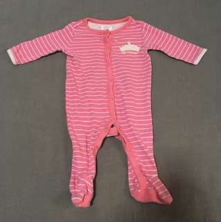 Princess Sleepsuit 0-3mos