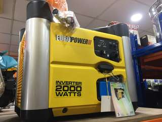 Euro Power 1000 and 2000 Generator