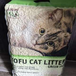 Tofu litter - green tea