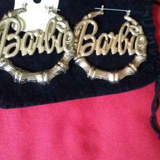 Gold barbie earings Instock