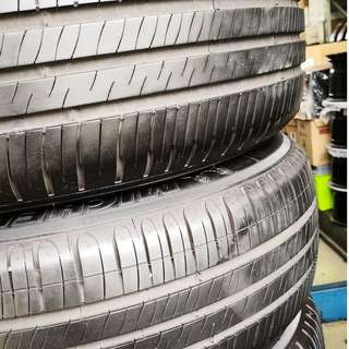 Michelin 195/65R15 (USED VERY GOOD CONDITION 90%)