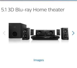 Philips 5.1 Home theater HTB3520