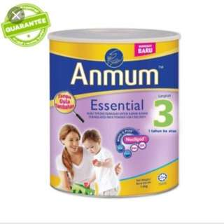 Anmum step 3 plain milk powder #15OFF