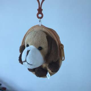 Cute Tiny Pouch (Puppy design) with Snap-on