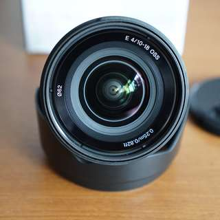 SONY SEL1018 10-18mm F4 OSS E mount 18